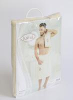"""Набор для сауны махровые мужск. """"KARNA"""" PAMIR 1/2_6"""