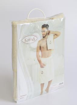"""Набор для сауны махровые мужск. """"KARNA"""" PAMIR 1/2"""