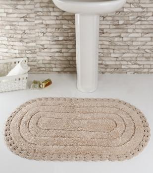 """Коврик для ванной """"MODALIN"""" кружевной YANA 60x100 см 1/1"""