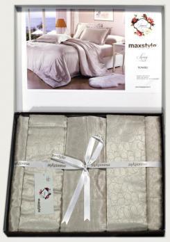 Постельное белье Maxstyle Jakarli Luxury Sumru 035