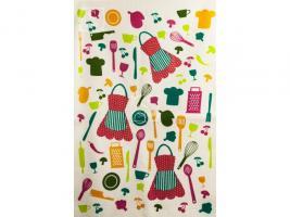 """Кухонное полотенце с бахромой """"AKIPEK""""  40x60 см 1/1_3"""